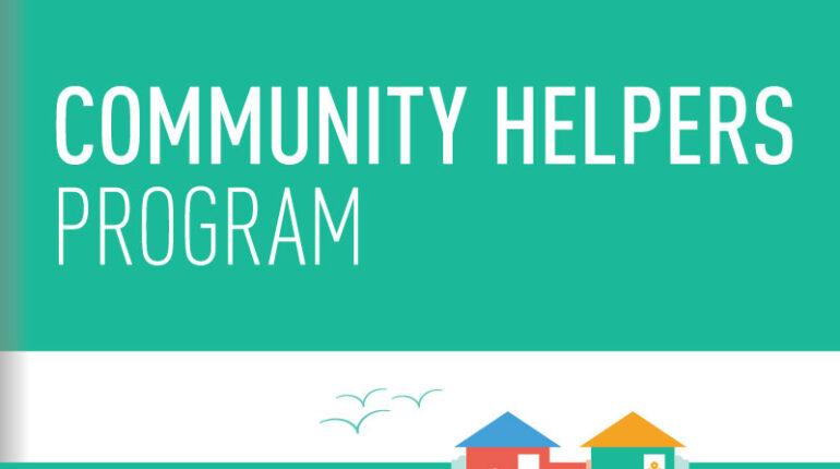 L'affiche du Community Helpers Program