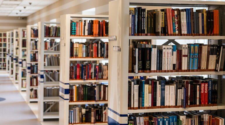 Rangées de livres